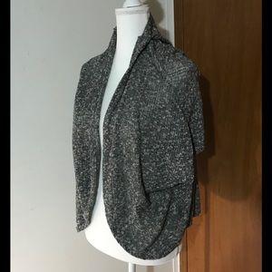 Grey old Navy batwing sleeve sweater cardigan